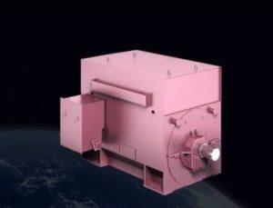 low-cost 4 pole turbocharged generator