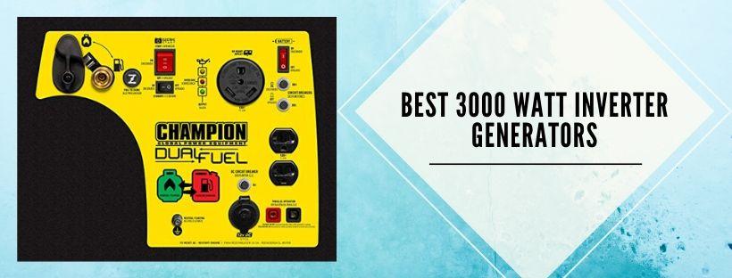 best 3000 watt generators for whole house