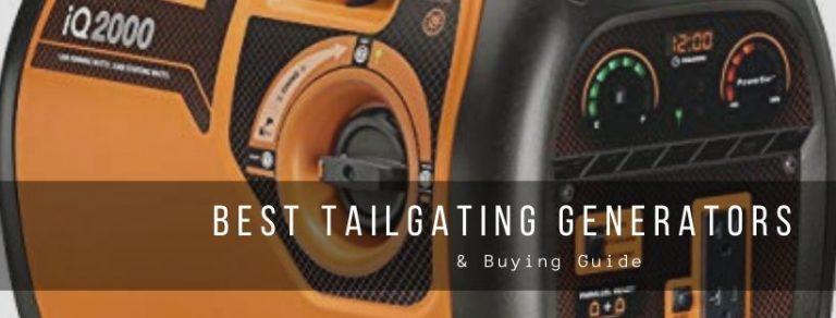 Top 7 best tailgating generators