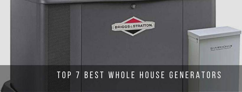 Top 7 Best Whole House Generators