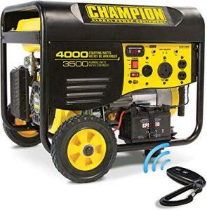 Champion 3500 watt portable generator