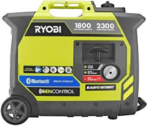 Ryobi Gasoline Powered Digital Inverter Generator