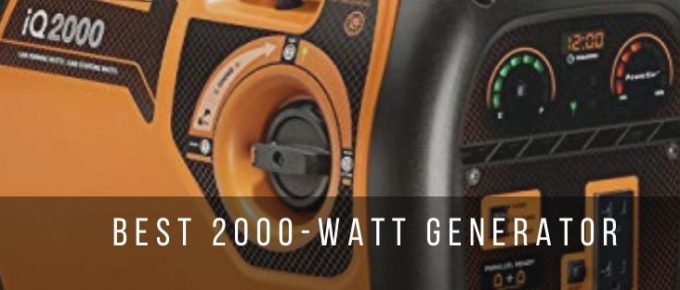 Top 7 best 2000-watt portable generators