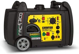 Champion 3400 watt propane generator
