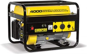 Champion 3500-watt quiet generator