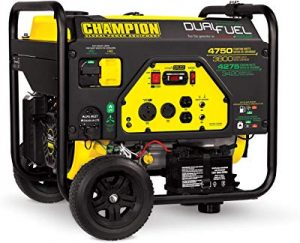 Champion 3800 watt portable generator