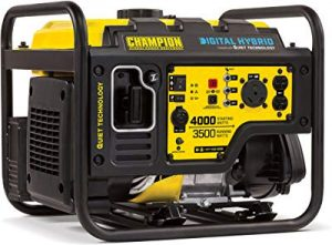 Champion 4000-watt inverter with quiet technology