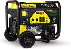 Champion 7500 watt portable generator