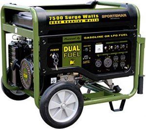 Sportsman GEN7500DF gas propane generator