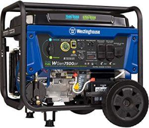 Westinghouse propane generator