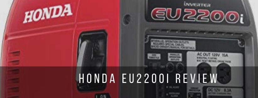 A detailed review of honda eu2200i specifications