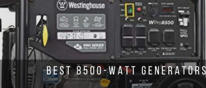 3 best 8500 watt generators for commercial use