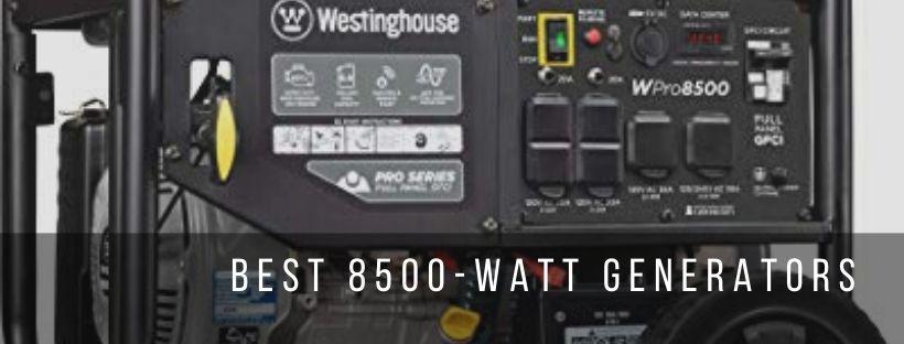 3 best 8500 watt generators for commercial use