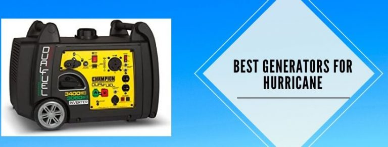 7 best hurricane generators