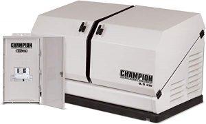 Champion 8.5 KW standby generator