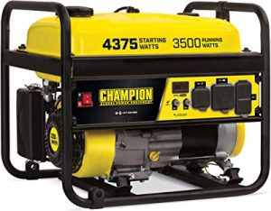 Champion 100555 generator for hurricane