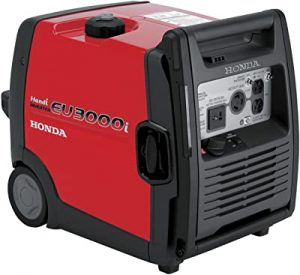 Honda EU3000IH1A generator for hurricane