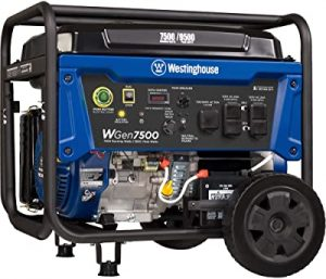 Westinghouse carb compliant generator
