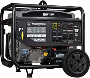 Westinghouse portable super-duty generator