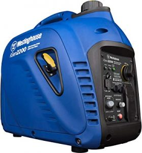Westinghouse portable gas generator