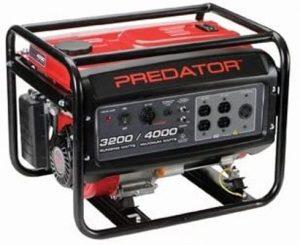 Predator 4000-watt generator