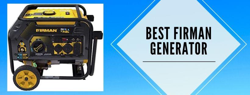 Top 6 best firman portable generators