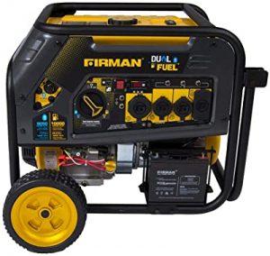 Firman H08051 electric start generator