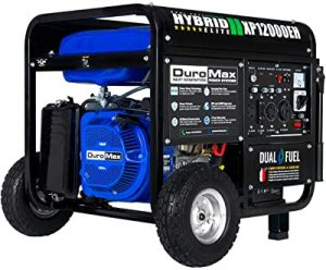 DuroMax 12000 watt dual fuel generator