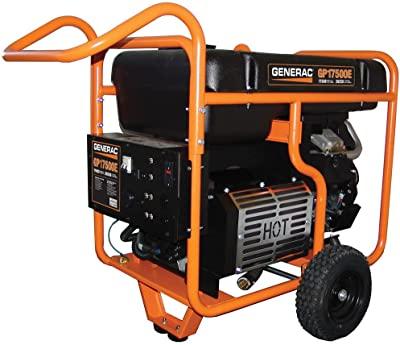 Generac 17500 watt gas powered generator