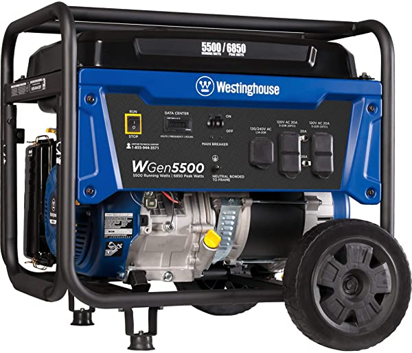Westinghouse WGen 5500 Generator