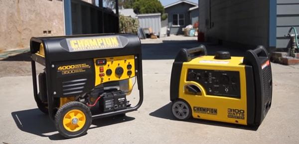 traditional generator characteristics