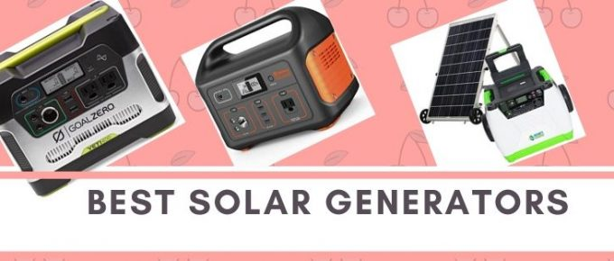 Top portable and lightweight solar generators