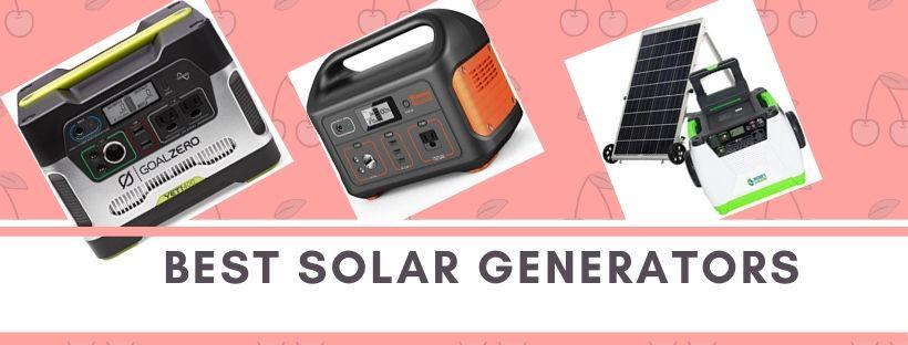 Top portable and lightweight solar generators