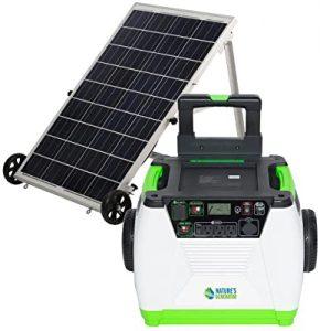 nature's powerful solar generator