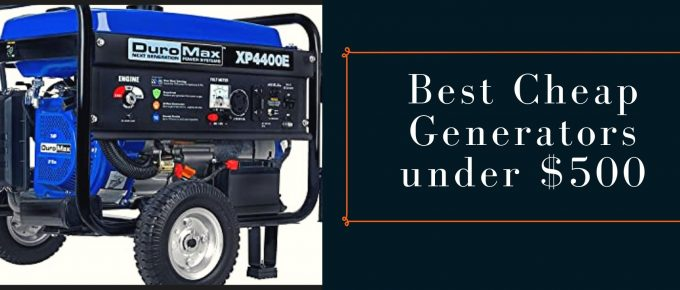 Best affordable generators