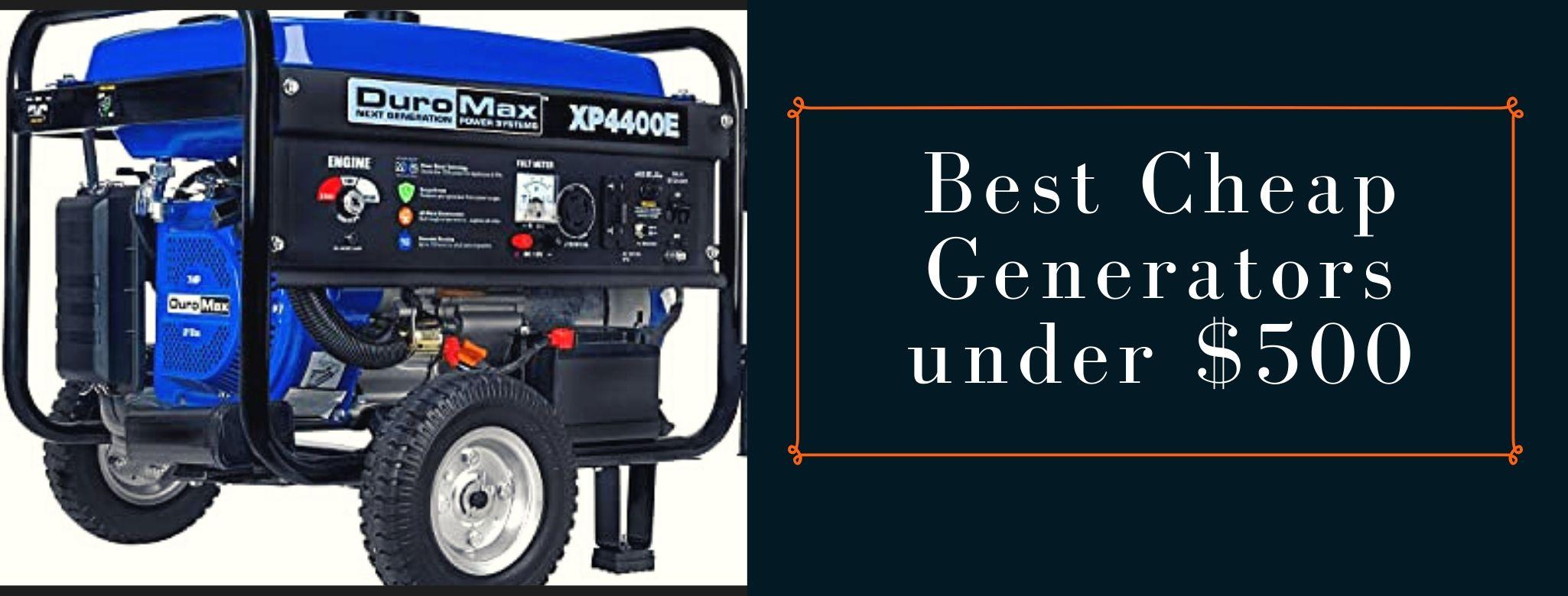 Best affordable generators