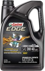 Castrol Synthetic motor oil