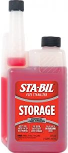 STA-Bil fuel stabilizer for generator