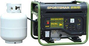 Sportsman dual fuel generator