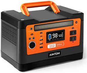 AimTom portable generator 540Wh