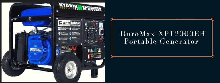DuroMax XP12000EH Power Station