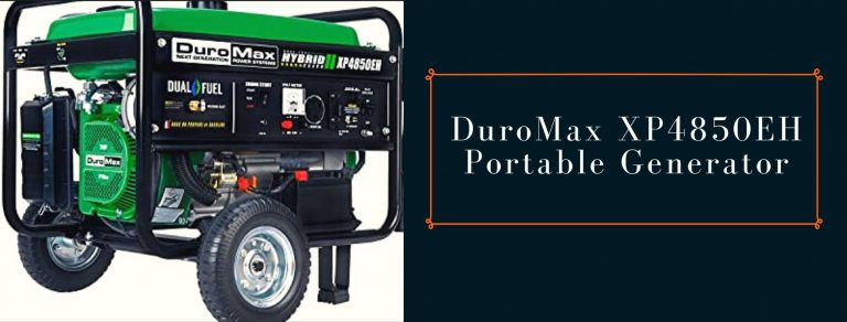 DuroMax XP4850EH power station