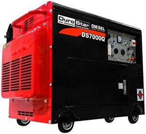 DuroStar closed frame diesel generator