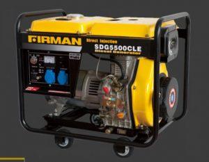 Firman diesel portable generator