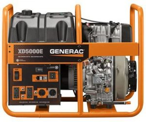 Generac Diesel Powered Generator