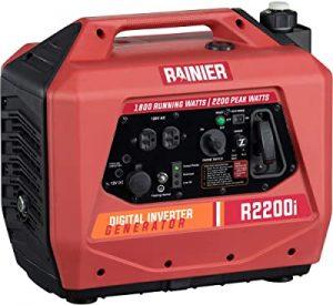 Rainier Super Quiet Portable Power Station, Rainier R2200i Portable Generator