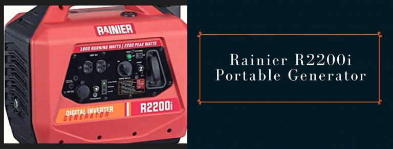 Rainier R2200i Quiet Operation Power Station