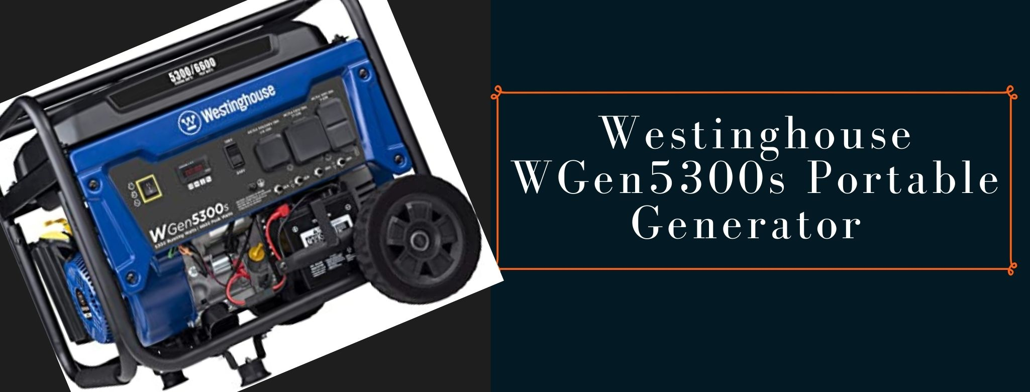 westinghouse WGen5300s portable power station