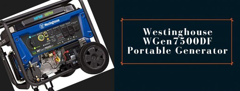 Westinghouse WGen7500DF power station for RVs