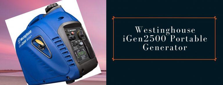 Westinghouse iGen2500 power station